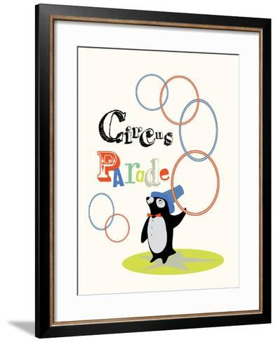 Circus Parade I-Laure Girardin-Vissian-Framed Art Print