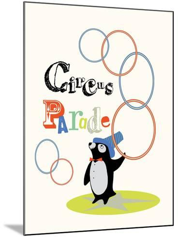 Circus Parade I-Laure Girardin-Vissian-Mounted Giclee Print