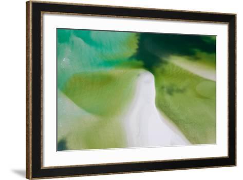 Green Tide I-Peter Adams-Framed Art Print