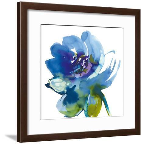 Blue Wash II-Sandra Jacobs-Framed Art Print