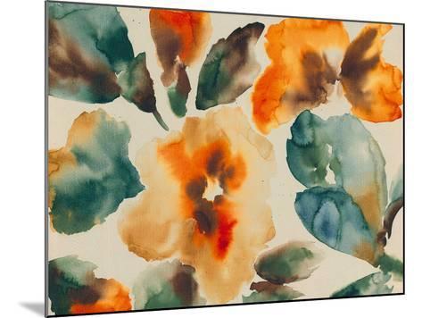 Floral Portrayal-Tanuki-Mounted Giclee Print