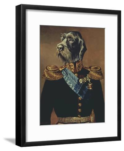 Royal Officer-Thierry Poncelet-Framed Art Print