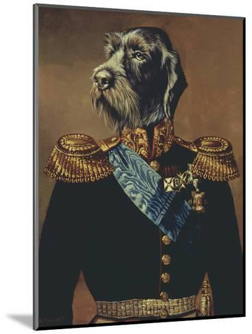 Royal Officer-Thierry Poncelet-Mounted Premium Giclee Print