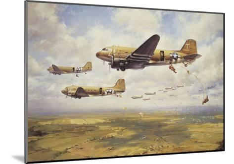A Bold Leap-John Young-Mounted Premium Giclee Print