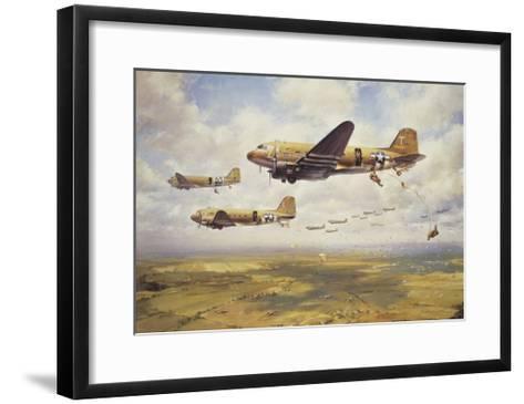 A Bold Leap-John Young-Framed Art Print