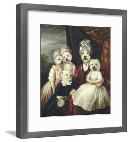 Les Enfants de la Comtesse II-Thierry Poncelet-Framed Art Print