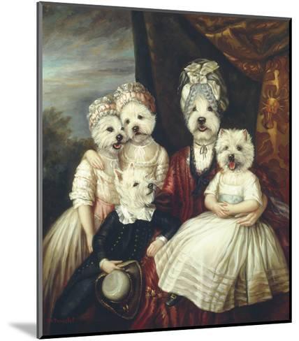 Les Enfants de la Comtesse II-Thierry Poncelet-Mounted Premium Giclee Print