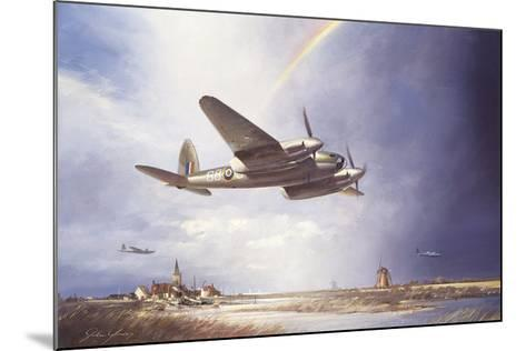 Low-flying Mosquito-John Young-Mounted Premium Giclee Print