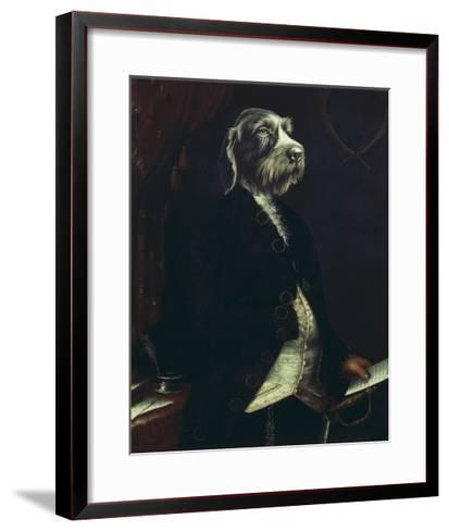 La Missive-Thierry Poncelet-Framed Art Print