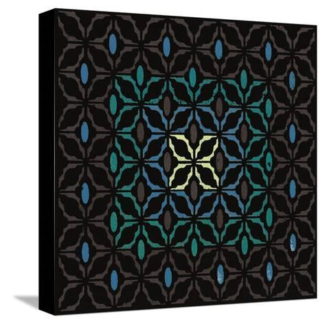 Moroccan Grill (Teal)-Susan Clickner-Stretched Canvas Print