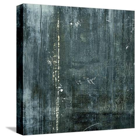 Gunmetal I-J^ McKenzie-Stretched Canvas Print