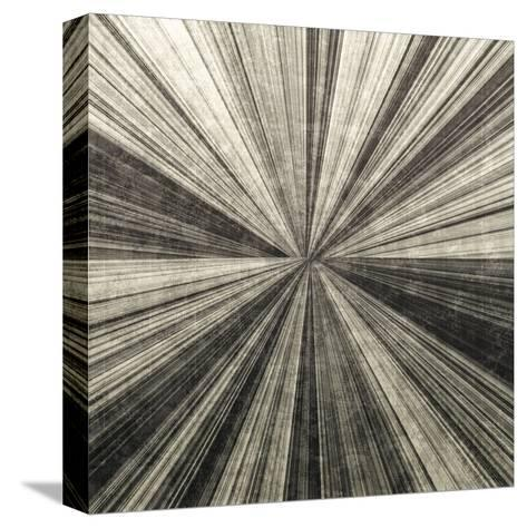 Silver Burst-Mali Nave-Stretched Canvas Print