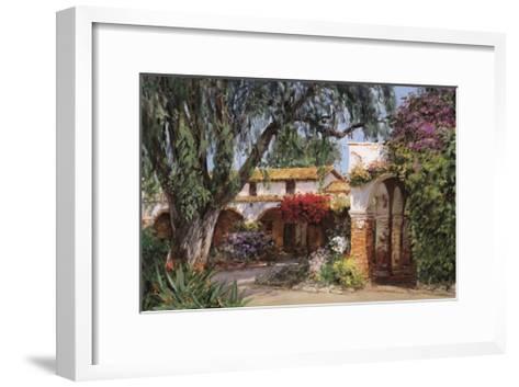 Capistrano Sunlight-George W^ Bates-Framed Art Print