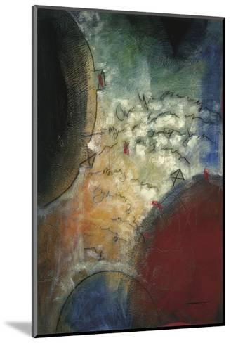 Silent Poem I-Trey-Mounted Giclee Print