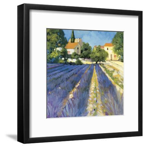Lavender Fields-Philip Craig-Framed Art Print