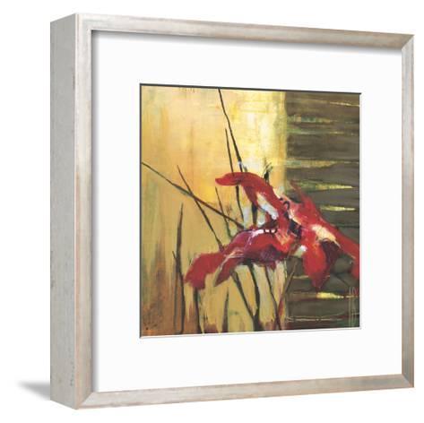 Golden Space II-Terri Burris-Framed Art Print