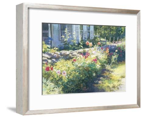Noon Along the Wall-Christine Debrosky-Framed Art Print