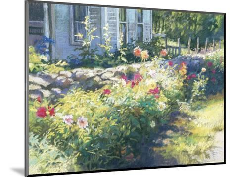 Noon Along the Wall-Christine Debrosky-Mounted Giclee Print