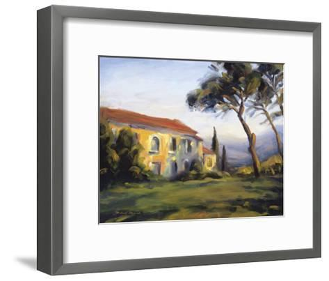 Country Dwelling-M. Downs-Framed Art Print
