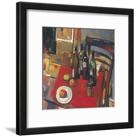 Vin Rouge-Jay Li-Framed Art Print