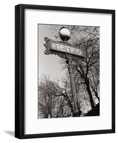 Metro-Clay Davidson-Framed Art Print