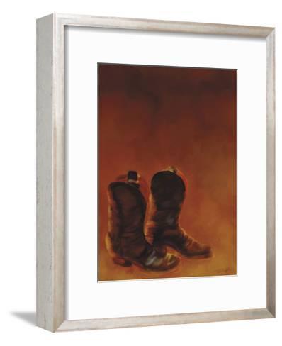 Ghost Town II-Tandi Venter-Framed Art Print