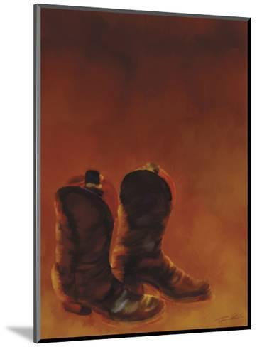 Ghost Town II-Tandi Venter-Mounted Giclee Print