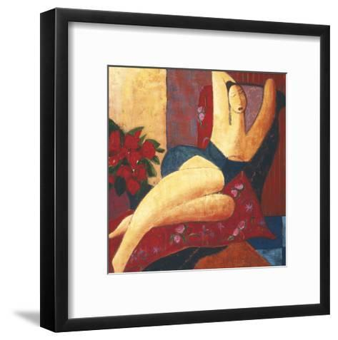 Seduction-Natalie Savard-Framed Art Print