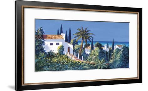Oceanview-David Short-Framed Art Print