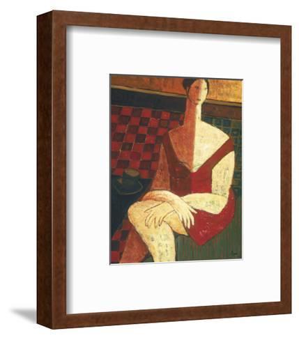 Invitation to Tea-Natalie Savard-Framed Art Print