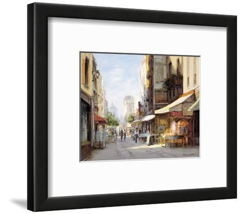 Marche Parisien-George W^ Bates-Framed Art Print