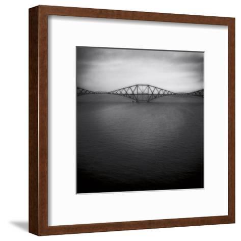 Forth Rail Bridge II-Jamie Cook-Framed Art Print