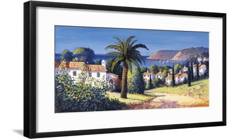 Palm Trail-David Short-Framed Art Print