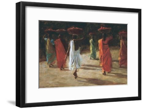 Tomatoes-Leslie Clark-Framed Art Print