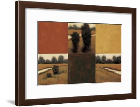 Golden Serenade-Rita Vindedzis-Framed Art Print