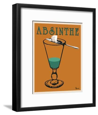 Absinthe-Lee Harlem-Framed Art Print