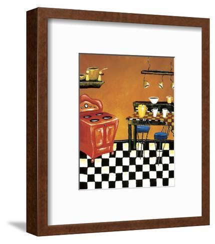 Retro Kitchen IV-Krista Sewell-Framed Art Print