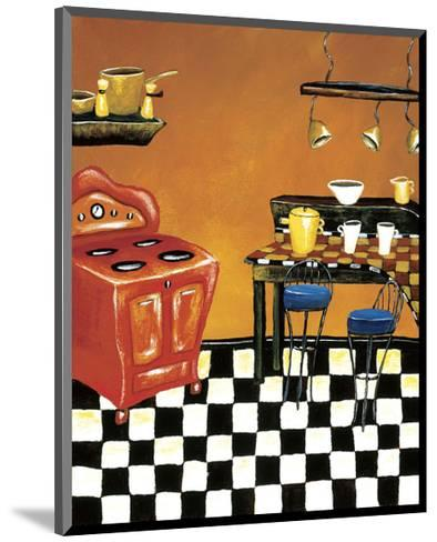 Retro Kitchen IV-Krista Sewell-Mounted Giclee Print