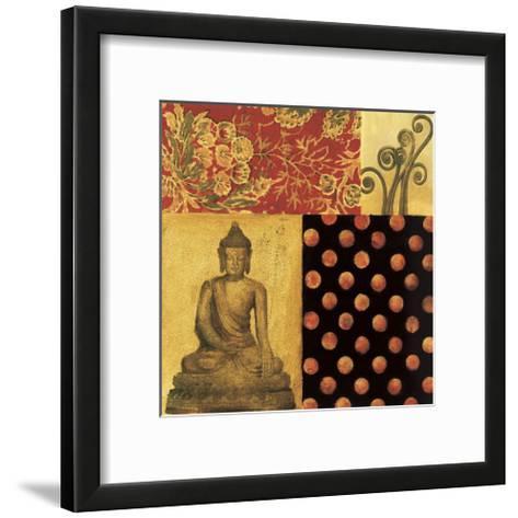 East Meets West I-Elizabeth Jardine-Framed Art Print