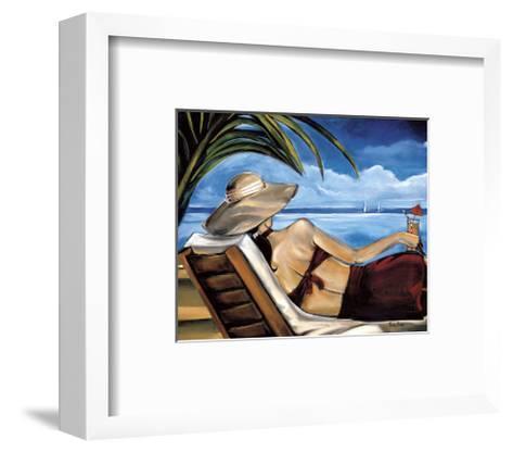 Riviera-Trish Biddle-Framed Art Print