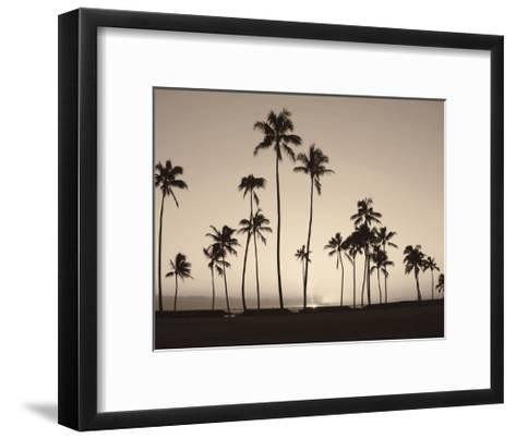 Platinum Palms II-Michael Neubauer-Framed Art Print