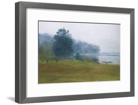 Trees in Fog and Mist-Kurt Solmssen-Framed Art Print