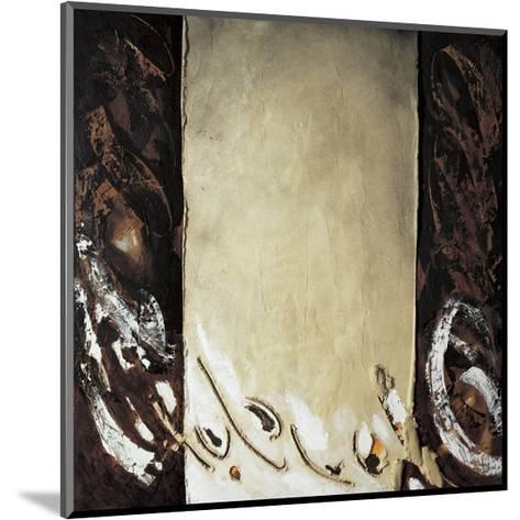 Vertical Ochre-Antoni Amat-Mounted Giclee Print