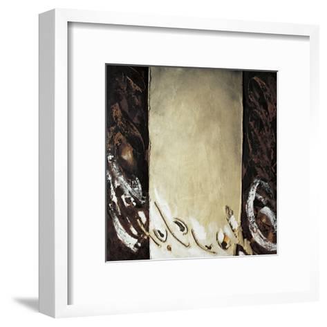 Vertical Ochre-Antoni Amat-Framed Art Print