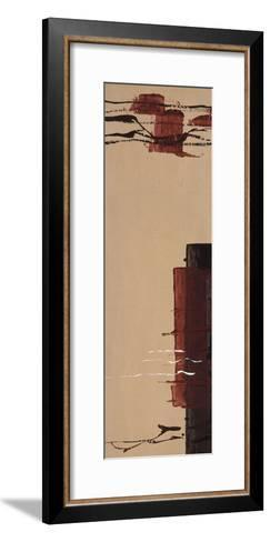 Touch of Red I-Mia Cameron-Framed Art Print