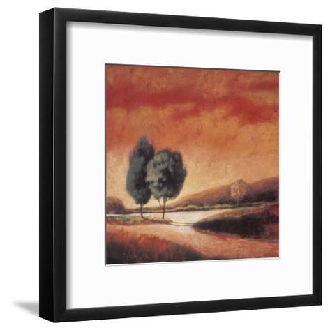 Country Road II-Kathryn Sherman-Framed Art Print