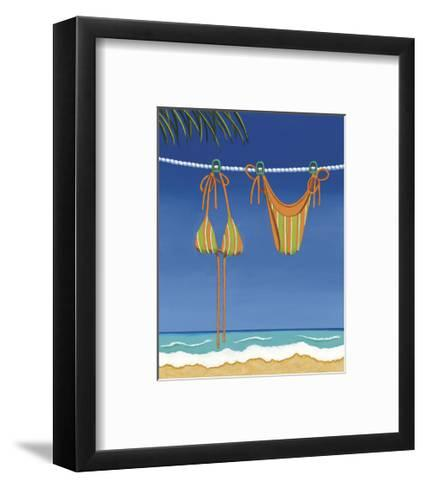 Beach Bound, Bikini-Michele Killman-Framed Art Print