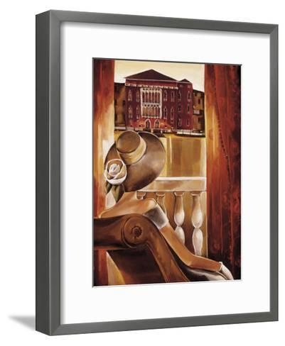 Room with a View II-Trish Biddle-Framed Art Print