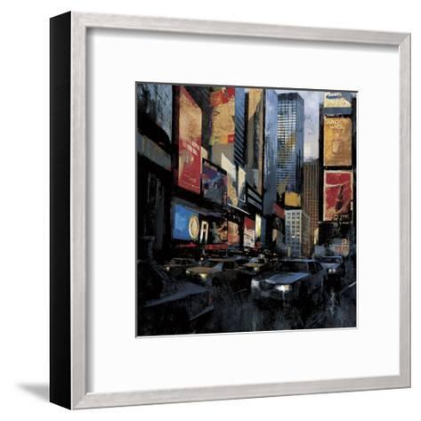 Times Square I-Marti Bofarull-Framed Art Print