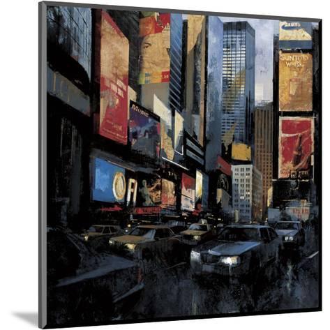Times Square I-Marti Bofarull-Mounted Giclee Print